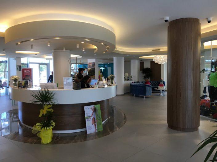 Progettazione hall di ingresso Dubai Village di Camposano (NA)